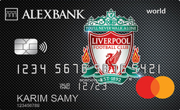 ALEXBANK Liverpool FC World Credit Card