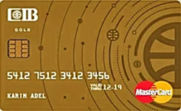 CIB Commercial International Bank - Gold Credit Card