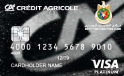 Crédit Agricole - Shooting Club Platinum Credit Card
