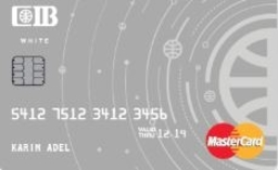 CIB Commercial International Bank-White Credit Card